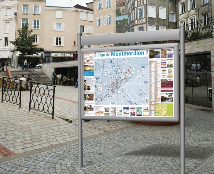Plan Centre Ville Montmorillon