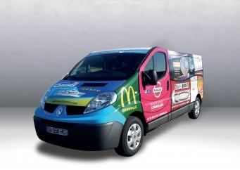 Minibus Publicitaire